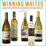 Winning Whites | National Culnary Review Oct. 2012