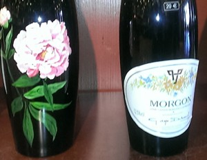 Beaujolais - Morgan flower bottle