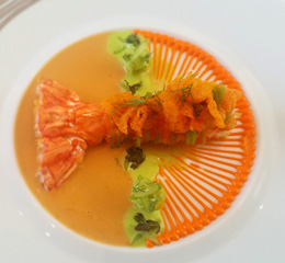 Lausanne Restaurant Hotel de Ville de Crissier lobster